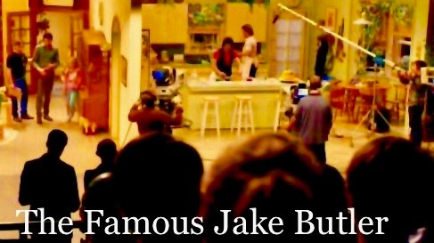 The Famous Jake Butler - Set Photo